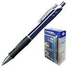 Ручка шариковая синяя масляная автоматическая Expert Complete Target 0.4 мм Корпус синий с грипом